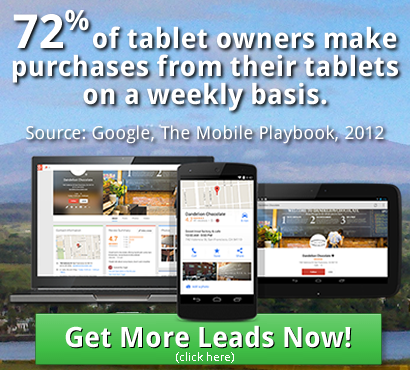 Get Your business on tablets, phones, laptops and more!
